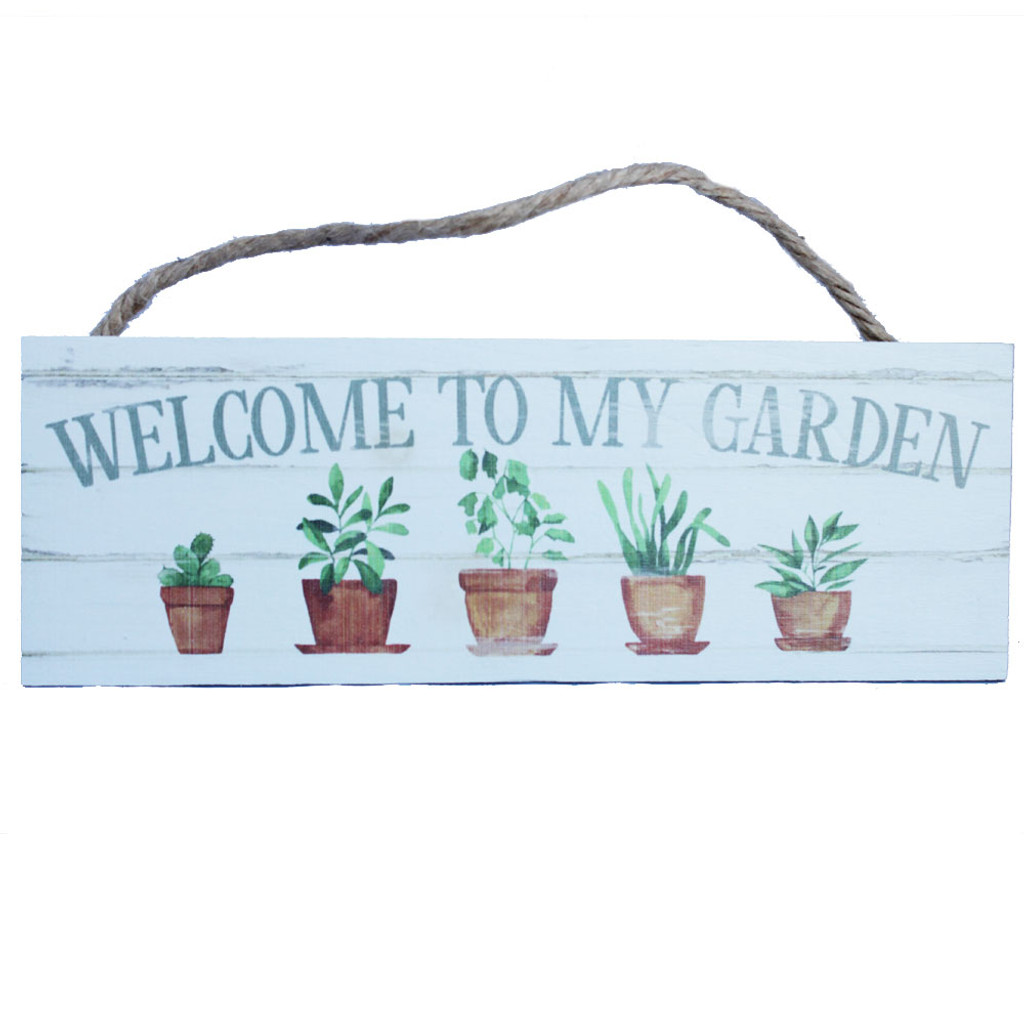 Welcome to the Garden - Made in the USA by P Graham Dunn ...