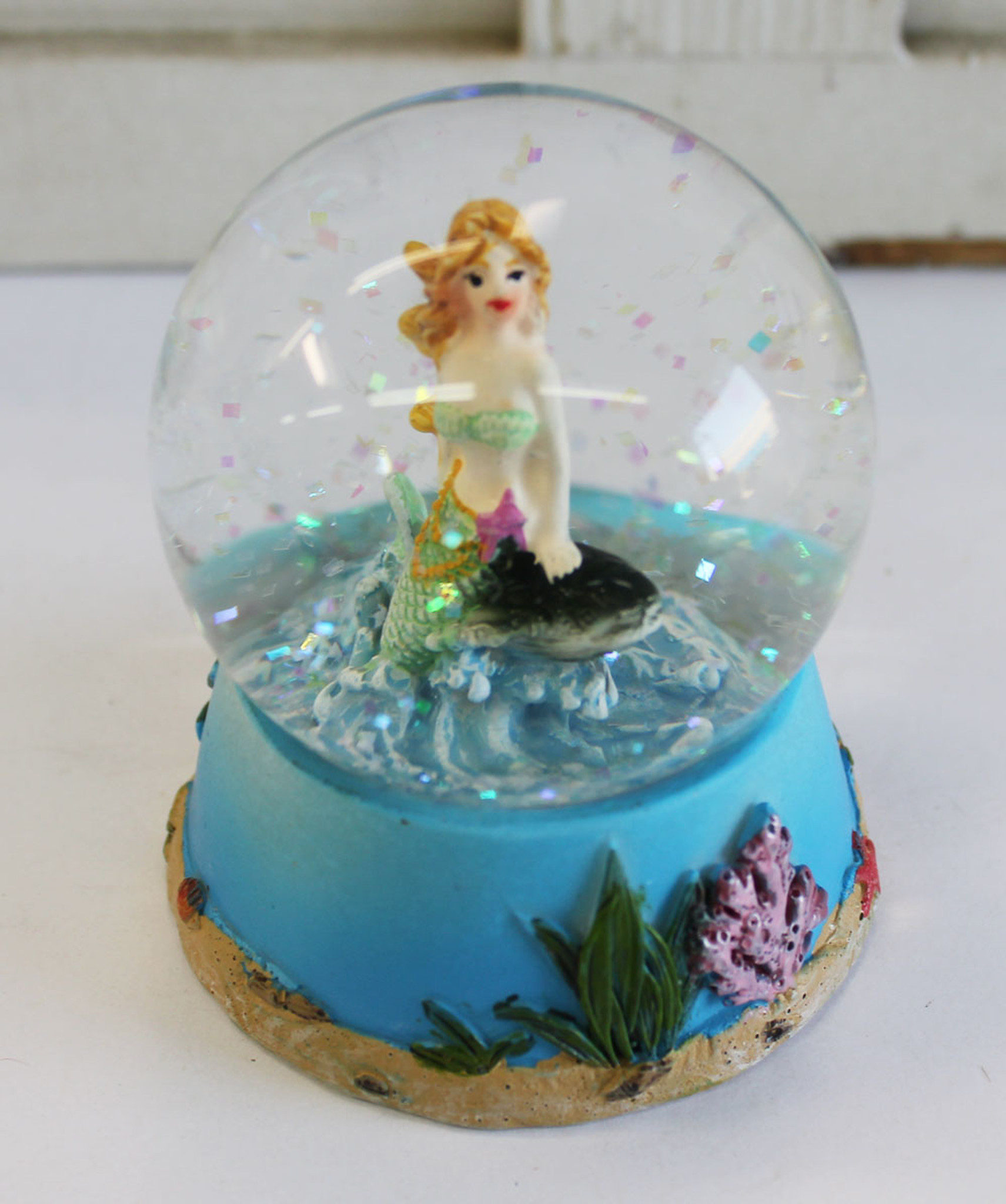 Mermaid Snow Globe - Waterball - Beach & Coastal Decor & Gifts ...