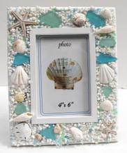 4x6 Sea Glass Frame