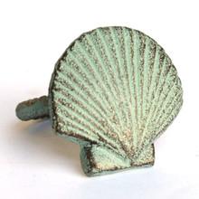 Green Scallop Napkin Ring