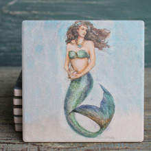 Magic Mermaid Coasters Set