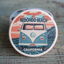 Redondo Beach VW Van Car Coaster