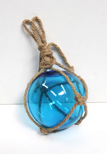 Light Blue Glass Float 3""