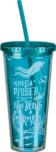 Kinda Pissed about Not Being a Mermaid travel cup