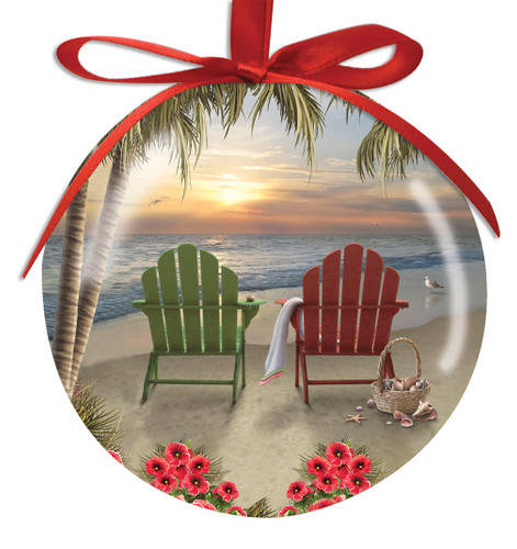 adirondack chair ball ornament - Decorating Adirondack Chairs For Christmas