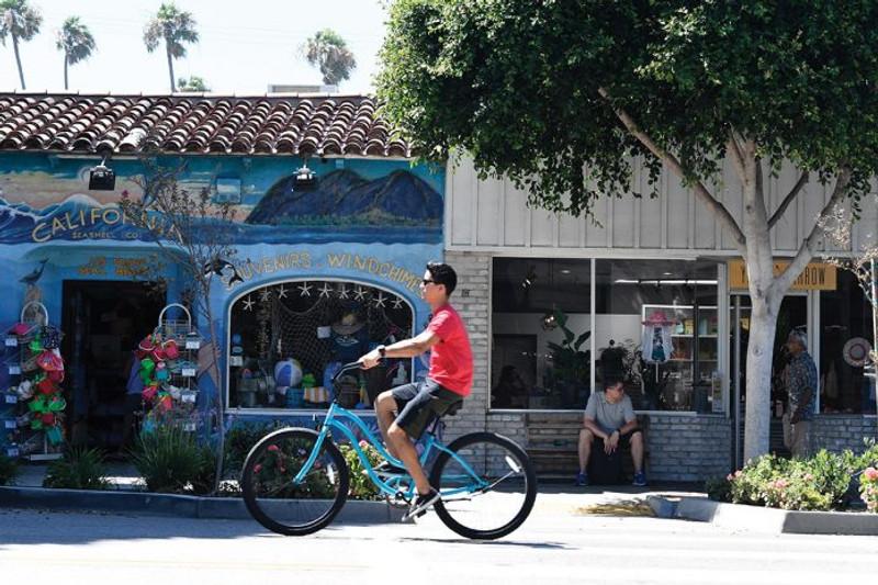Seal Beach's Main Street Embodies Small-Town Charm