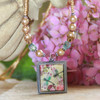 ART-210 Soft Colors with Dragonfly ART Collection Necklace