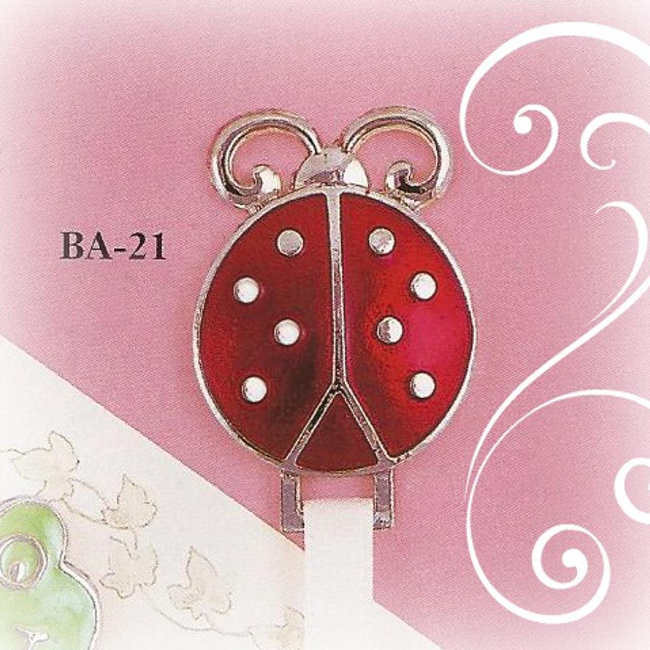 BA-21 Red Ladybug Paci Holder