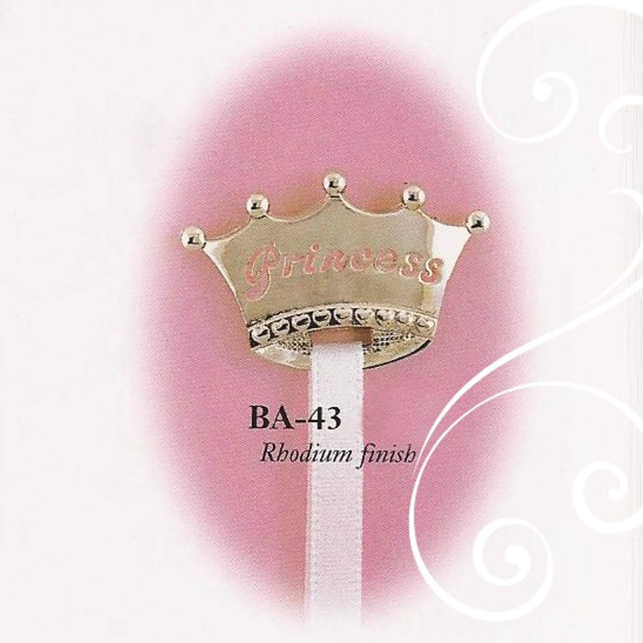 BA-43 Crown Princess Paci Holder Girl
