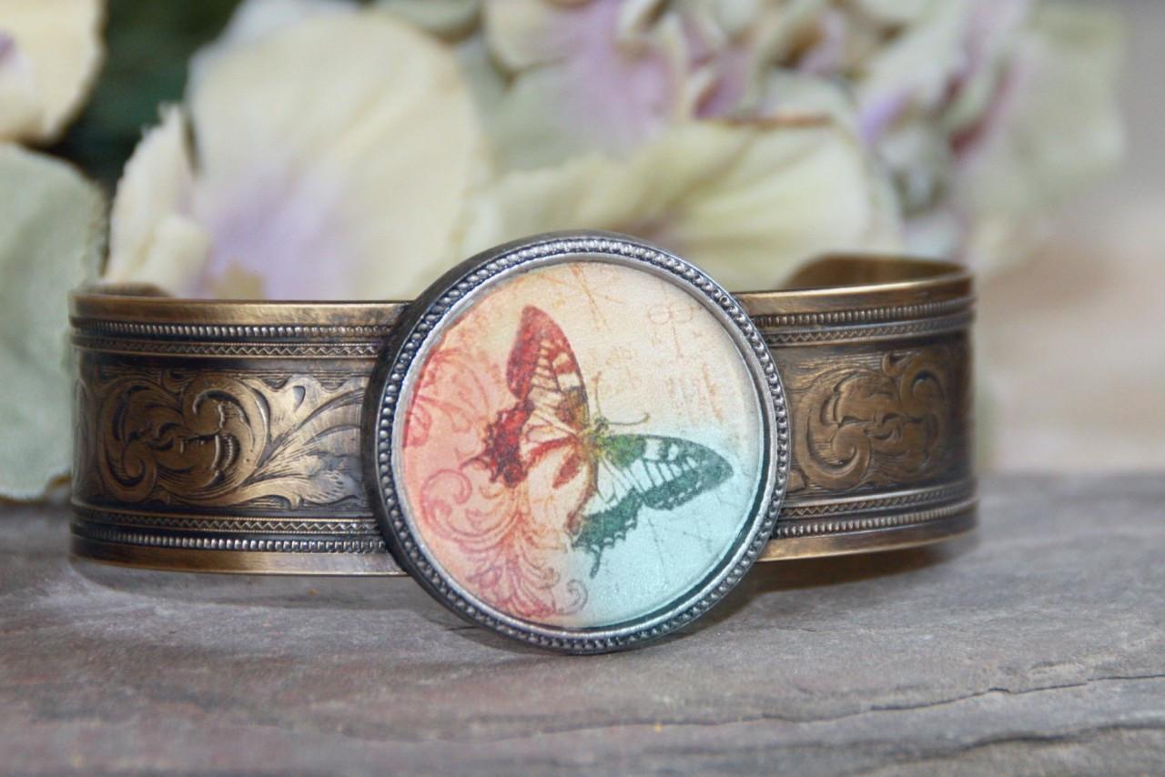 ART-101 Butterfly Cuff bracelet