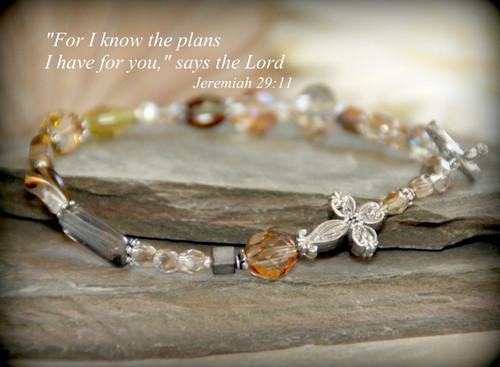 IN-363 Jeremiah 29:11 Bracelet
