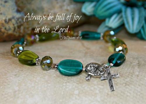 IN-359 Always be full of Joy Bracelet-2