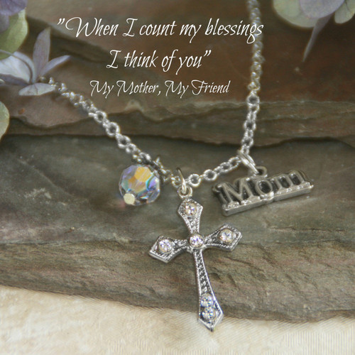 IN-411 My Mother, My Friend Necklace