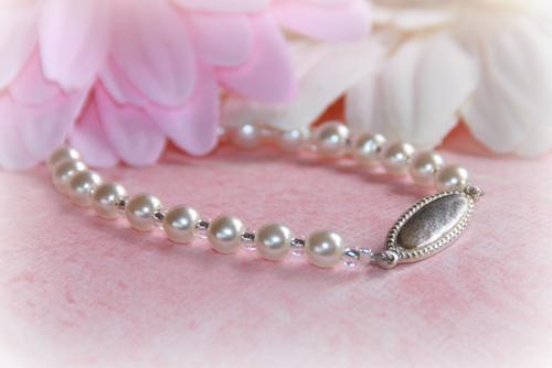 """STG-256 Sterling Silver Engravable plaque Baby Bracelet 5"""""""