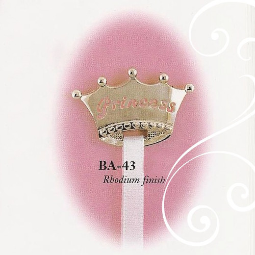 BA-43 Crown Princess Paci Holder Girl