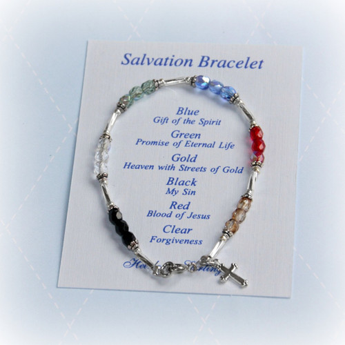 "STG-84  Child Salvation Bracelet 6"""