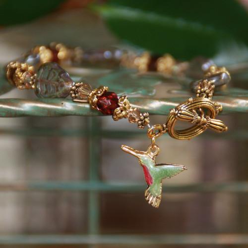 IS-38  Hummingbird Bracelet