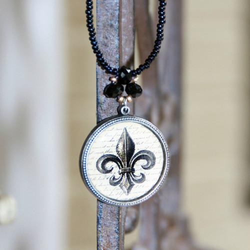 ART-209 Fleur de Lis ART Collection Necklace