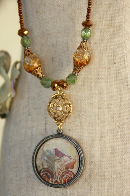 ART-219 Bird ART Collection Necklace