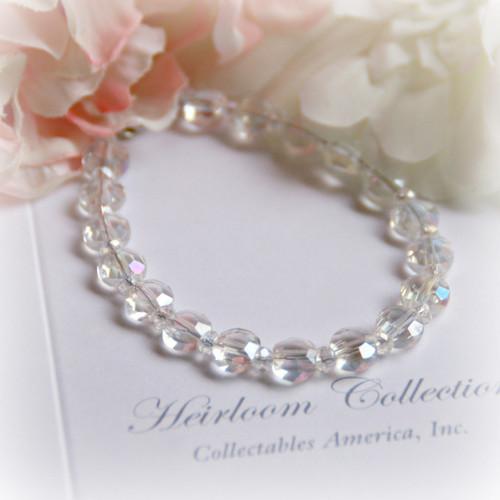 """CJ-372-6 Crystal 6"""" Bracelet without a Charm"""