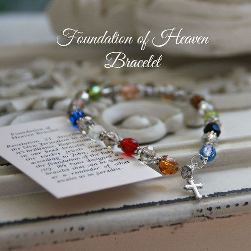 IN-251  Foundation of Heaven Bracelet