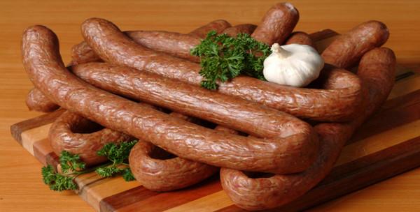 Polish Regular Kielbasa-Wiejska Smoked Sausage-1.75 pounds