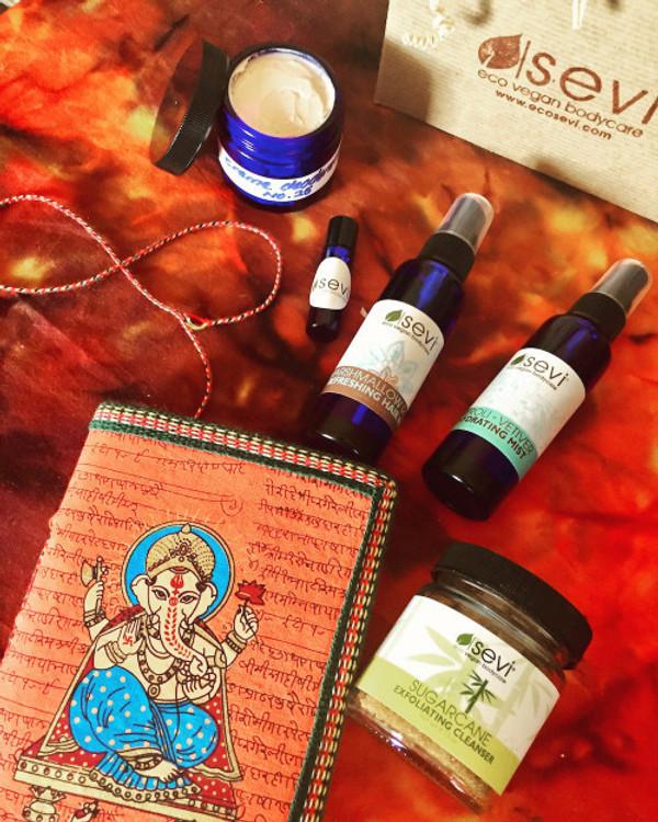 november 2016 sevi skincare apothecary box :: Indian Fig
