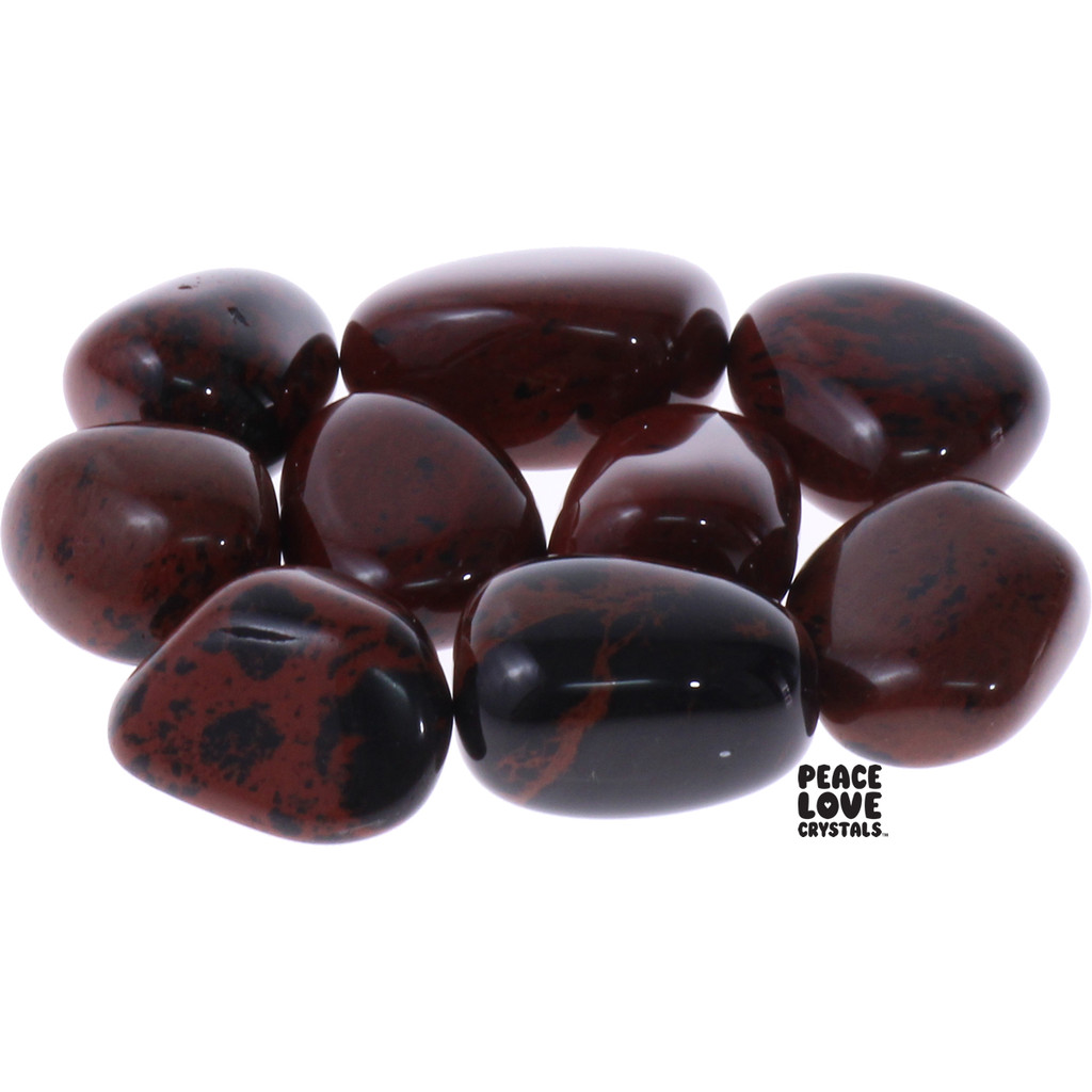 Mahogany Obsidian Tumbled Stones