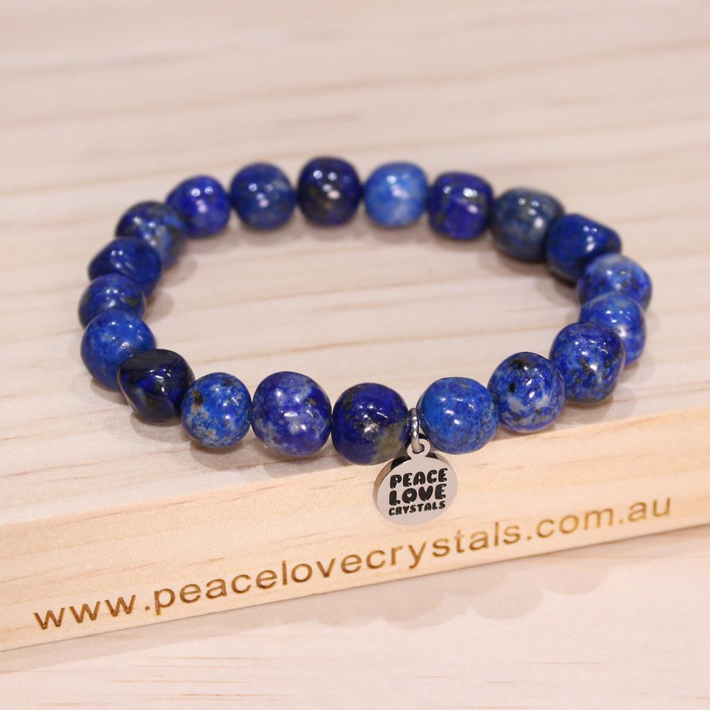 Lapis Lazuli Pebble Bracelet