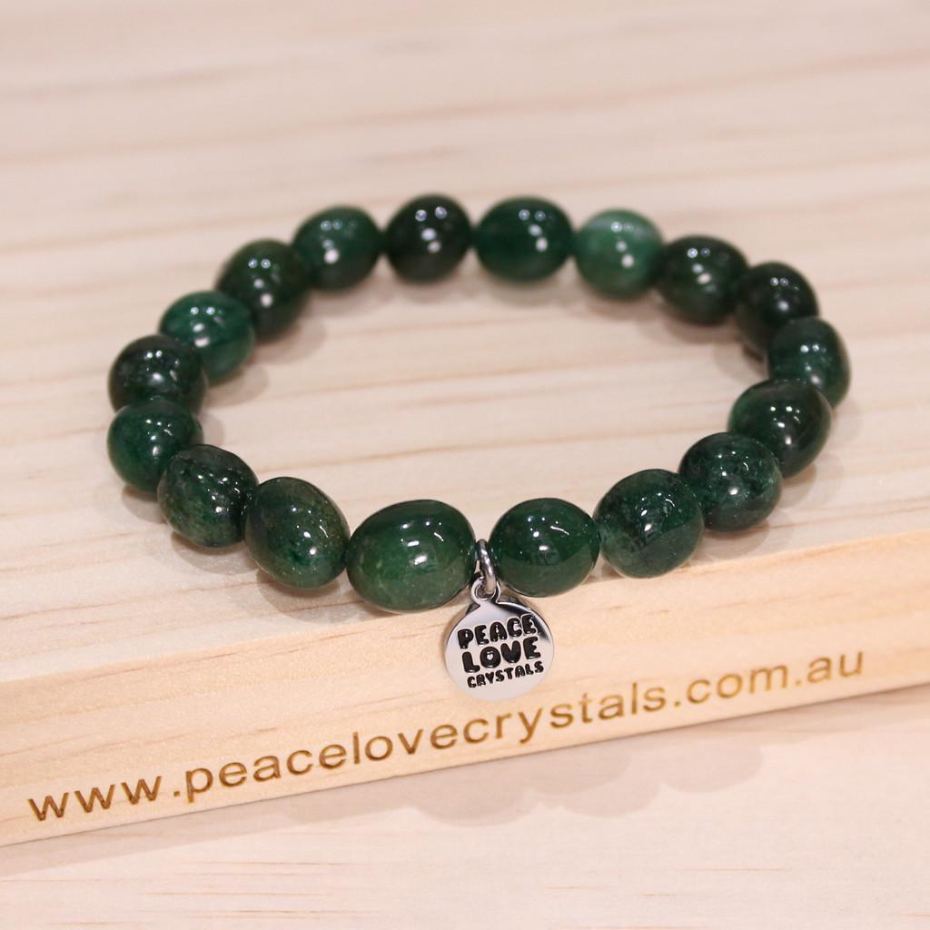 Fuchsite Pebble Bracelet