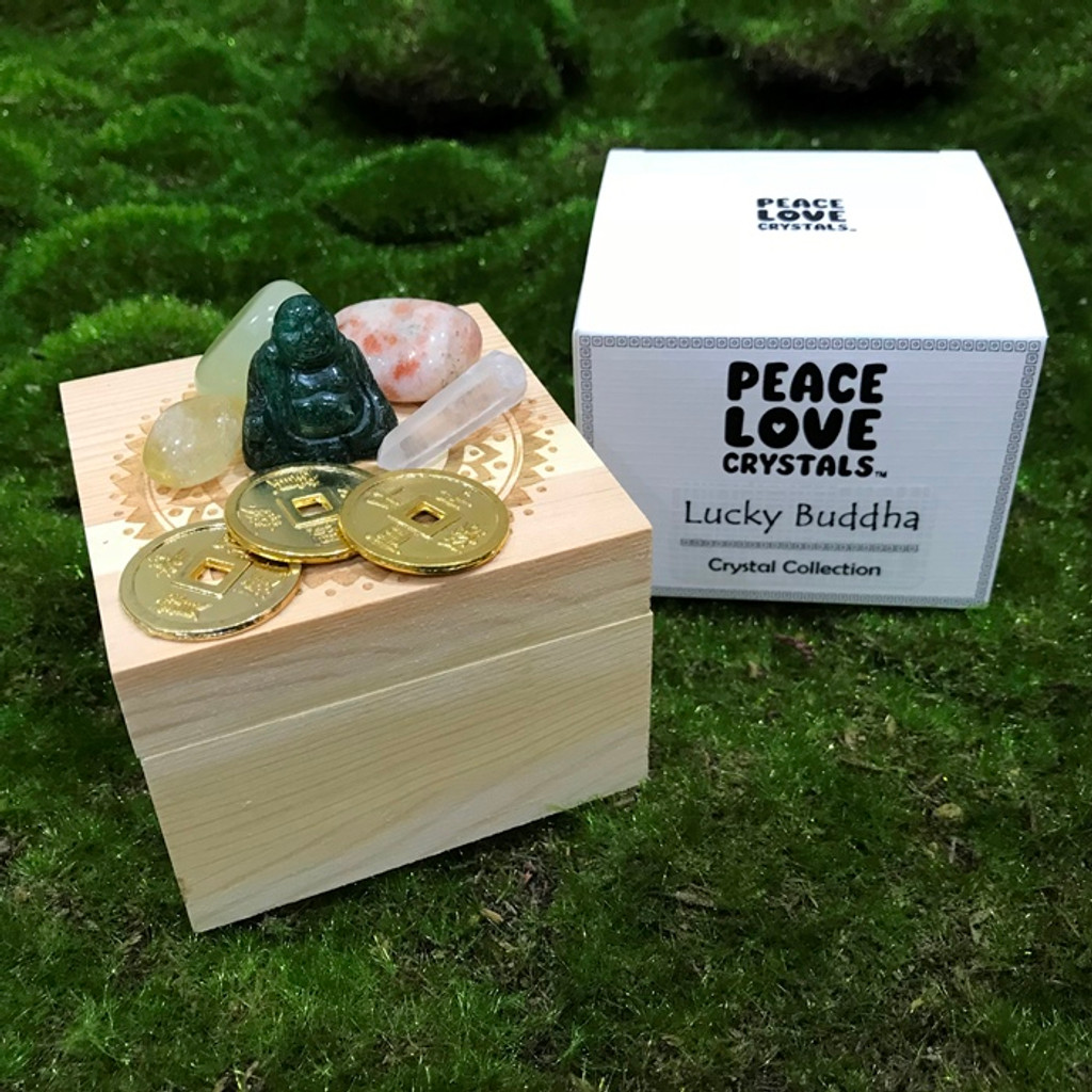 Lucky Buddha Crystal Collection Box
