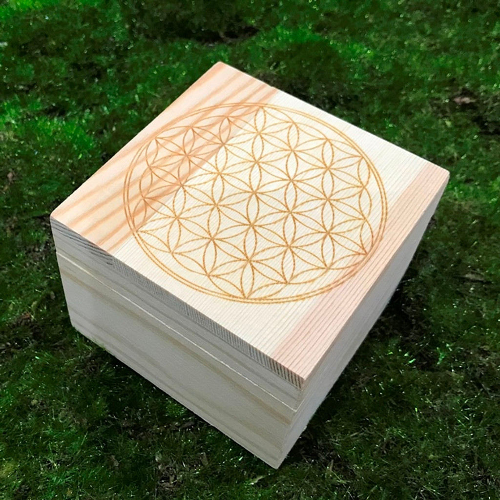 Flower of Life Grid Box