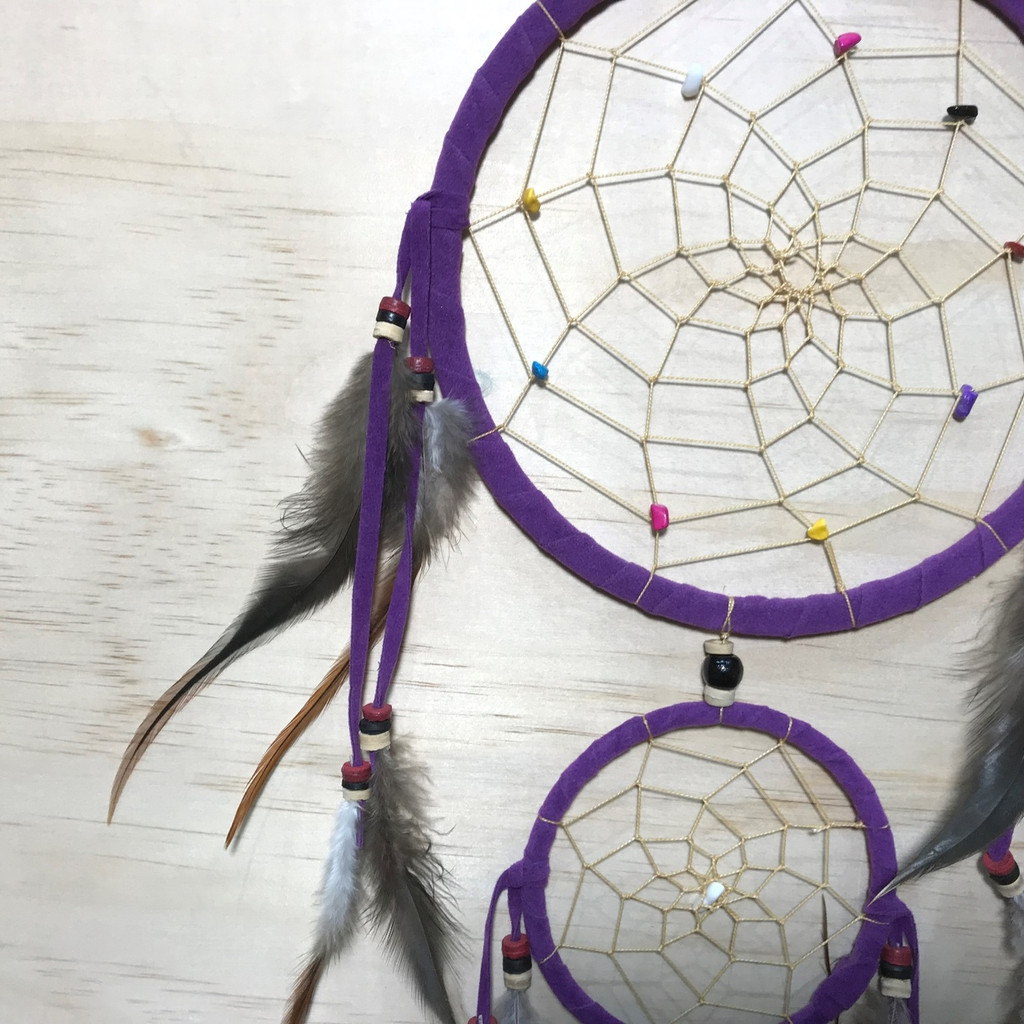 Purple Dreamcatcher