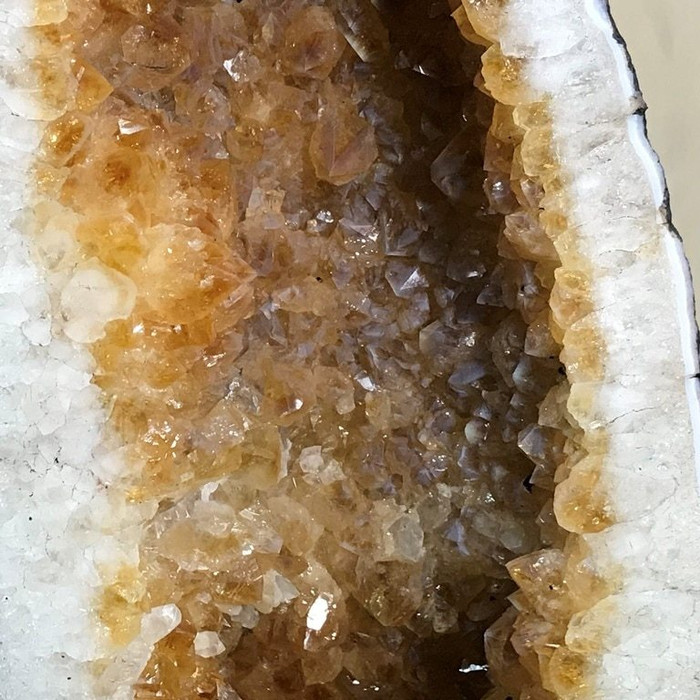Citrine Geode Caves