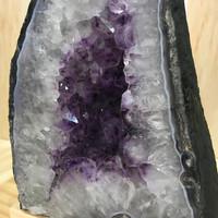 Amethyst Geode Cave