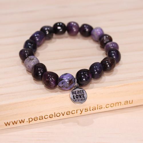 Sugilite Pebble Bracelet