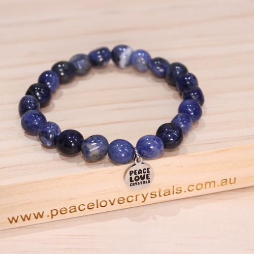 Sodalite Pebble Bracelet