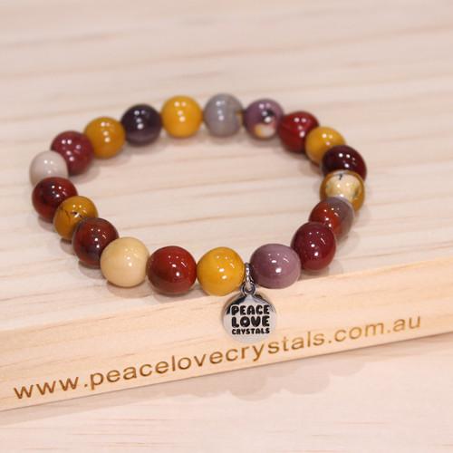 Mookaite Pebble Bracelet