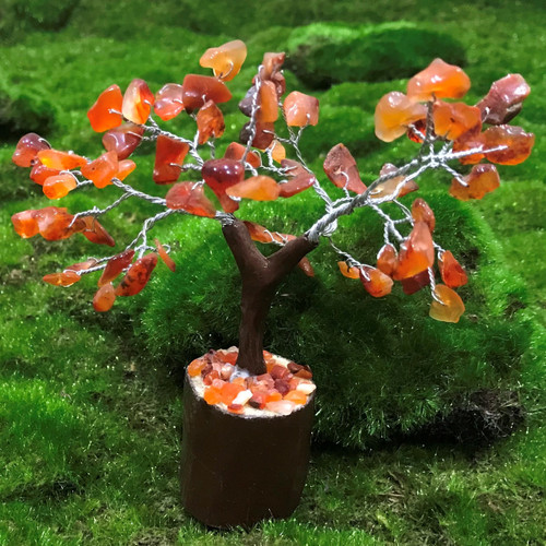 Carnelian Small Crystal Tree
