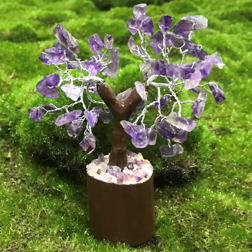 Amethyst Small Crystal Tree