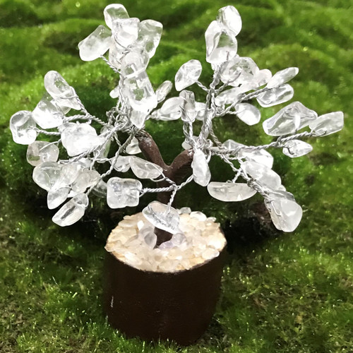 Clear Quartz Small Crystal Tree