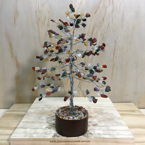Rainbow Crystal Tree