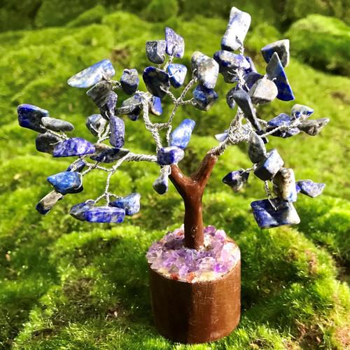Lapis Lazuli Crystal Tree