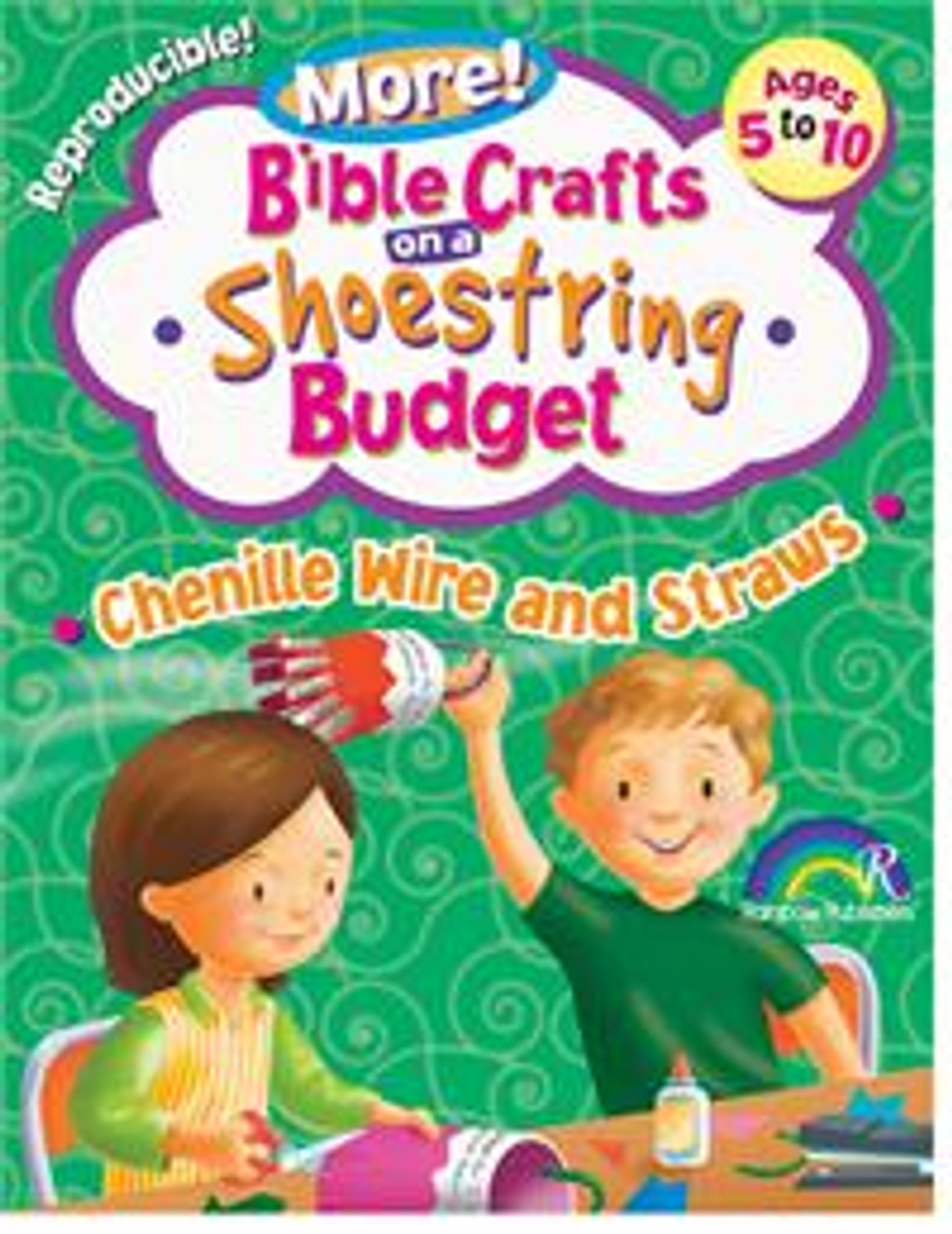 More! Bible Crafts on a Shoestring Budget Chenile Wire and Straws
