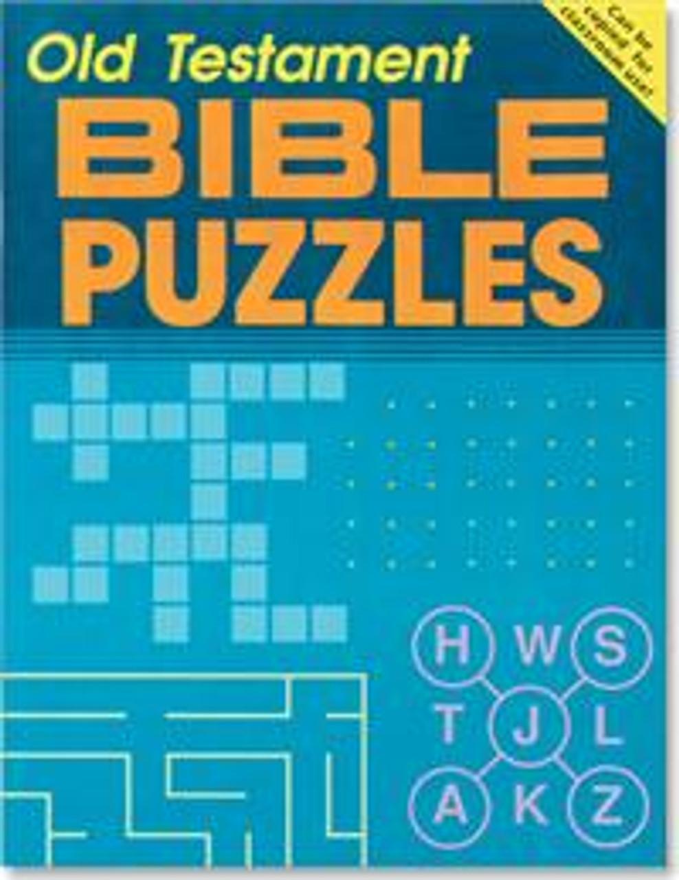 Bible Puzzles - Old Testament - Grades 4 & up