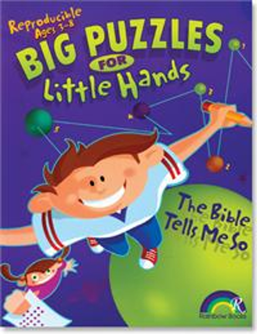 Big Puzzles for Little Hands - The Bible Tells Me So 3-8