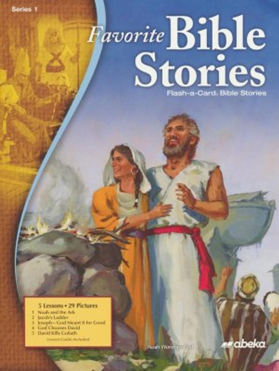 Favorite Bible Stories 1 (12x16)