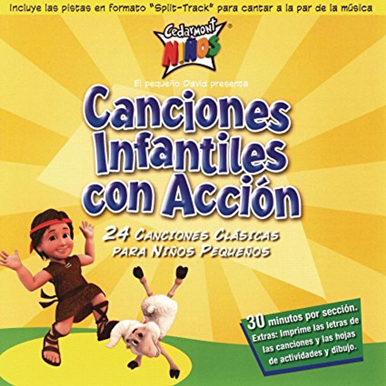 Canciones Infantiles Con Accion (music cd)