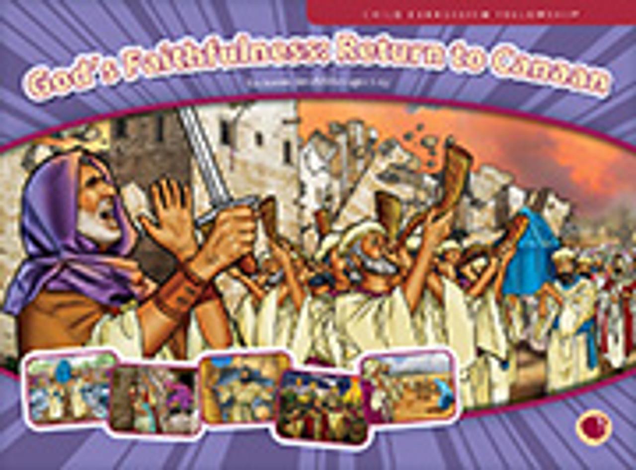 God's Faithfulness: Return to Canaan (flashcards)