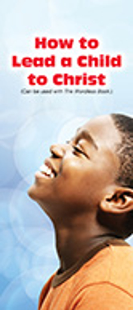 How To Lead a Child to Christ Leaflet